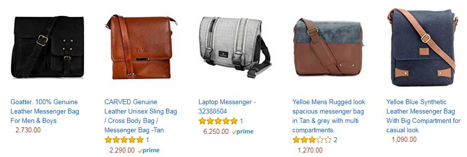 leather products ecommerce website development
