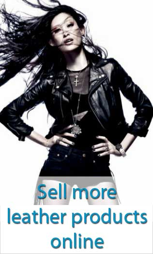 sell leather products